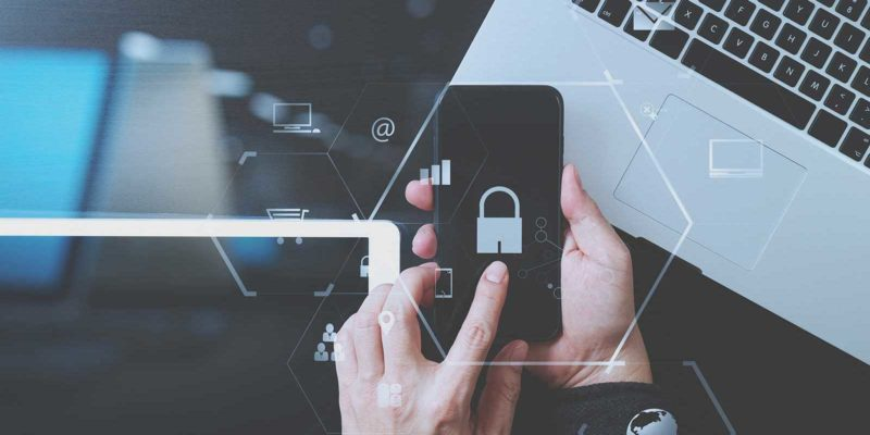 Mobile security on cell phone