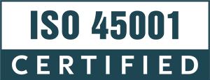 ISO 45001 certification logo